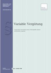Buch und E-Book Variable Vergütung