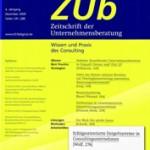 Zeitschrift der Unternehmensberatung 06 2009