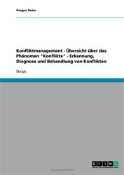 Fachbücher Konfliktmanagement Literatur