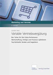 Fachbuch Variable Vertriebsvergütung Buch Sales Performance