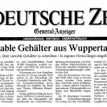 WZ Artikel Variable Verguetung