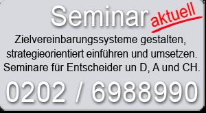Seminar Zielvereinbarungssysteme