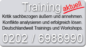 Training Konfliktkompetenz