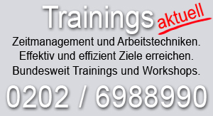 Training Zeitmanagement