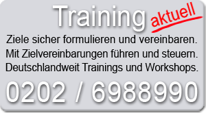 Training Zielvereinbarung