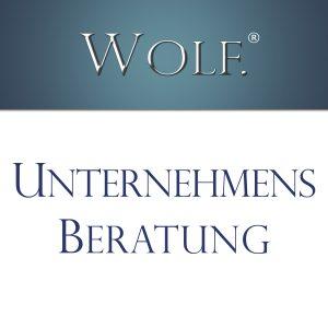 WOLF Unternehmensberatung - Schulung - Umsetzung