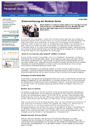 Fachartikel Zielvereinbarung mit flexiblen Zielen
