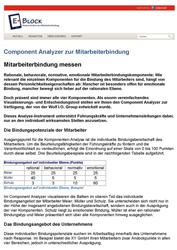 Fachartikel Component Analyzer zur Mitarbeiterbindung