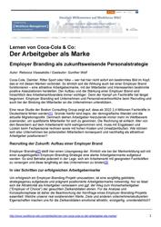 Fachliteratur Der Arbeitgeber als Marke