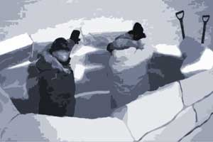 Winter Outdoor Training Iglubau