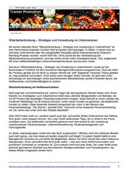 Pressespiegel Mitarbeiterbindung – Strategie und Umsetzung im Unternehmen
