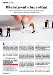 Personalcontrolling: Mitarbeiterwert in Euro und Cent