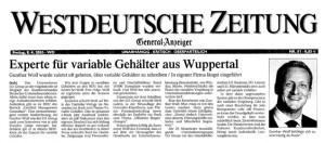 Experte für Variable Gehälter aus Wuppertal