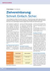 Fachliteratur Zielvereinbarung
